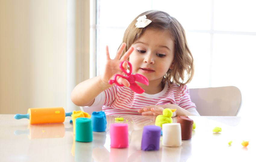 Play dough game